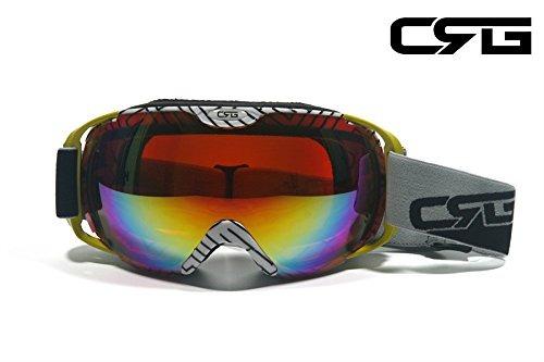 6b0984353b Crg Se Divierte Gafas Antis Del Esqui De La Lente Doble, Gaf ...