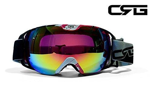 8806f9f12e Crg Se Divierte Gafas Antis Del Esqui De La Lente Doble, Gaf - $ 758.88 en  Mercado Libre