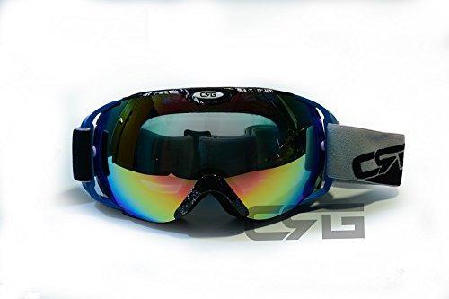 33cd039ced Crg Se Divierte Gafas Antis Del Esqui De La Lente Doble, Gaf - $ 759.76 en  Mercado Libre
