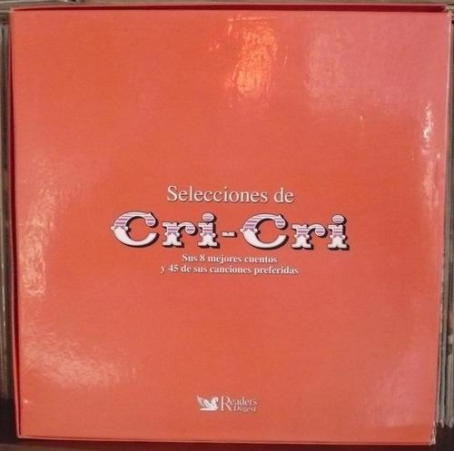cri cri 3 cds sus 8 mejores cuentos y 45 canciones
