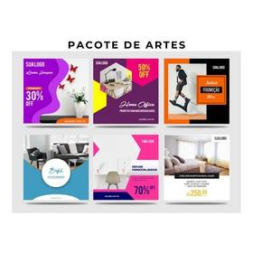 Criação De 10 Artes Para Redes Sociais Instagram E Facebook