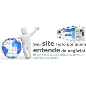 Criação De Site + Loja + Hospedagem + Emails