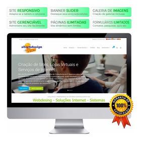 Criação Site Profissional Personalizado - Sem Mensalidade