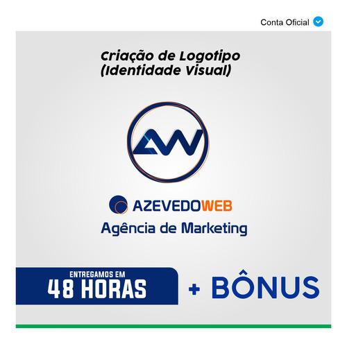 criação arte logotipo marca logomarca profissional + bônus