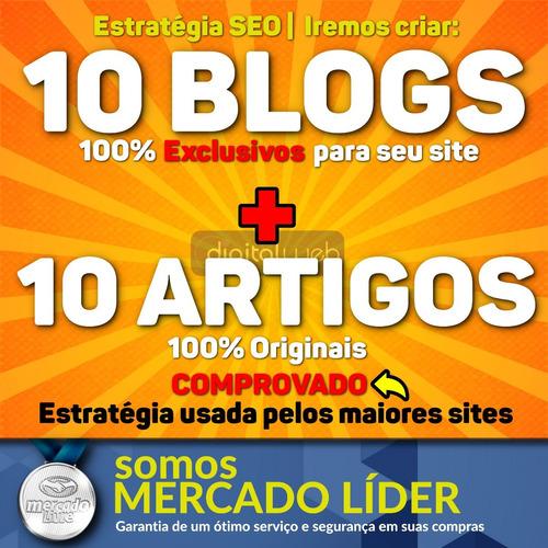 criação de 10 blogs web 2.0 manual 100% seguro seo backlink