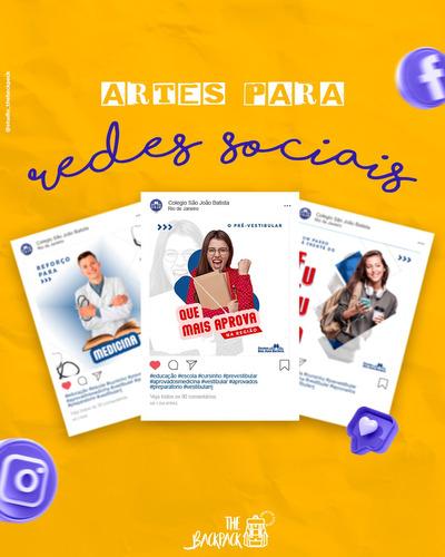 criação de artes para redes sociais  e logotipo