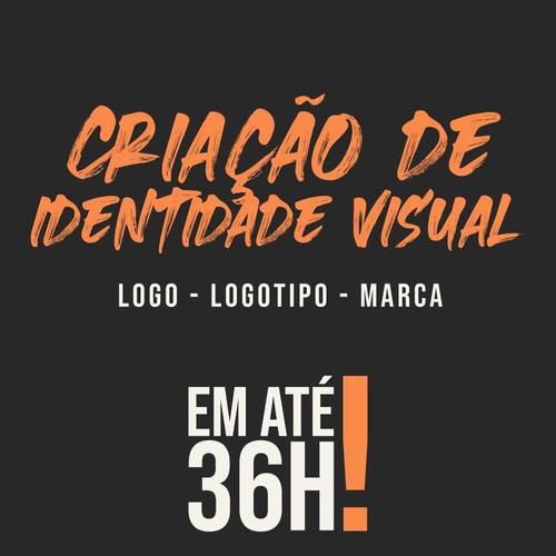 criação de identidade visual - logo, logotipo, marca, 36h