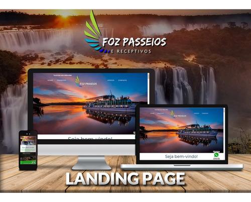 criação de landing page