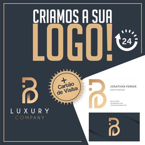 criação de logo profissional + arte cartão visitas
