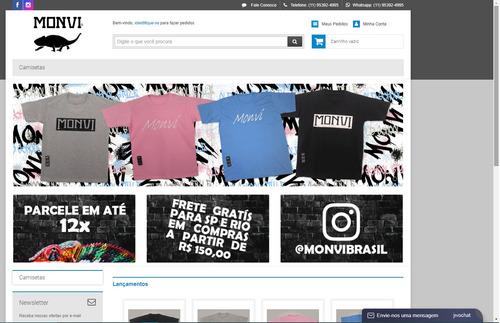 criação de loja online - e-commerce