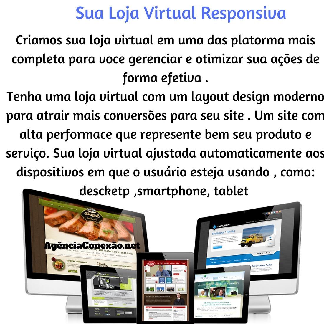 7bec8b3c1 criação de loja virtual em são paulo - criação de website ! Carregando zoom.