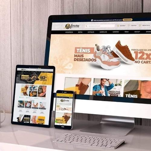 criação de lojas virtuais com hospedagem grátis e websites