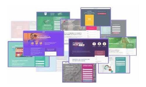 criação de página de vendas ou site