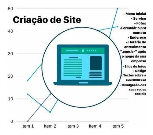 criação de site