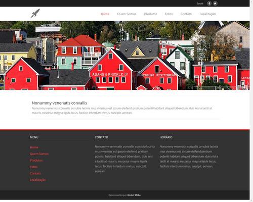 criação de site + domínio + hospedagem