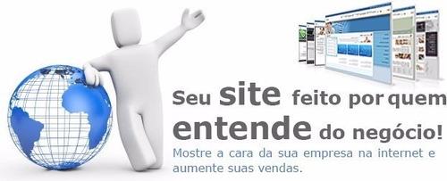 criação de site institucional e hospedagem gratis