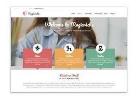 criação de site institucional wordpress