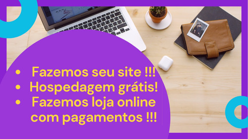 criação de site, loja online, website, com hospedagem grátis