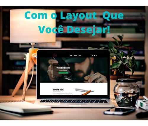 criação de site profissional e responsivo