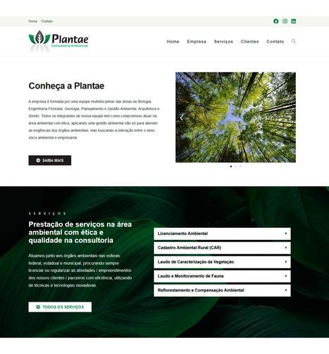 criação de site profissional em wordpress 100% responsivo