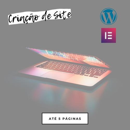 criação de site responsivo com wordpress + elementor