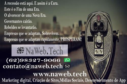 criação de site,loja virtual,mídias sociais,aplicativo 400$