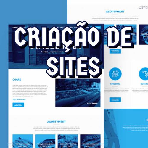 criação de sites, leve, rápido e bonito (muito eficiente)