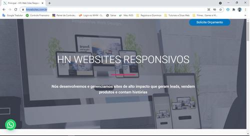 criação de sites responsivos em até 7 dias!