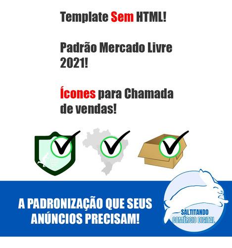 criação de template profissional anúncios e-commerce