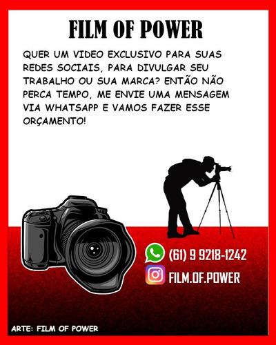 criação de vídeos para comércio ou loja!