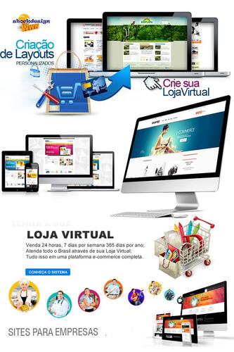 criação de web site em html, css, wordpress