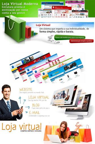 criação de web sites, loja virtual, templates - baixo custo