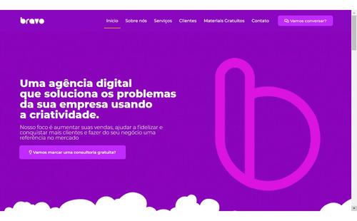criação de websites e landing page's