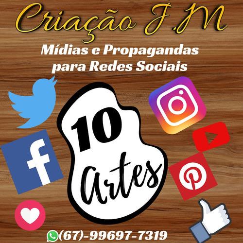 criaçãoj.m. post publicação cartaz capa redes sociais faceb