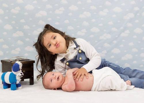 criadinho envelhecido prop foto newborn acompanhamento bebê