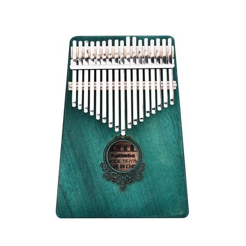 criador 17 chave kalimba piano polegar dedo sólido tamanho b