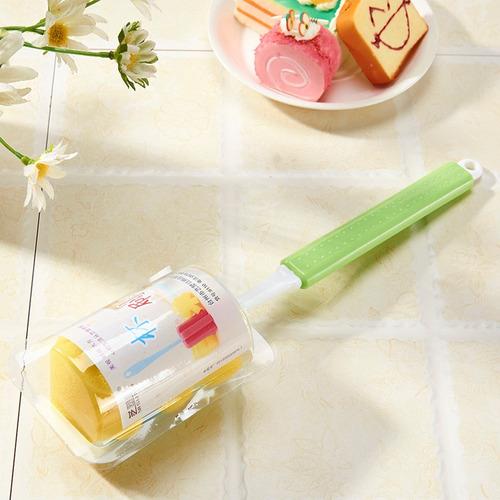 criador escova retrátil copo esponja multi-função pode ser
