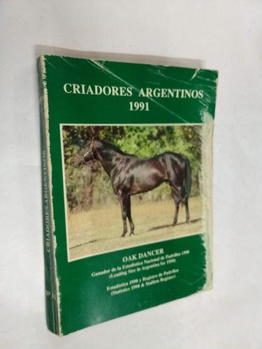 criadores argentinos 1991 - criadores arg. sangre pura