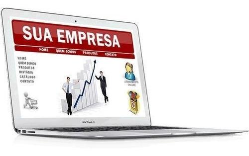 criamos seu site,dominio,email e hospedamos por 1 ano.
