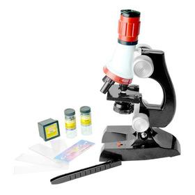 Crianças Biológica Ciência Microscópio 1200x Zoom Educac