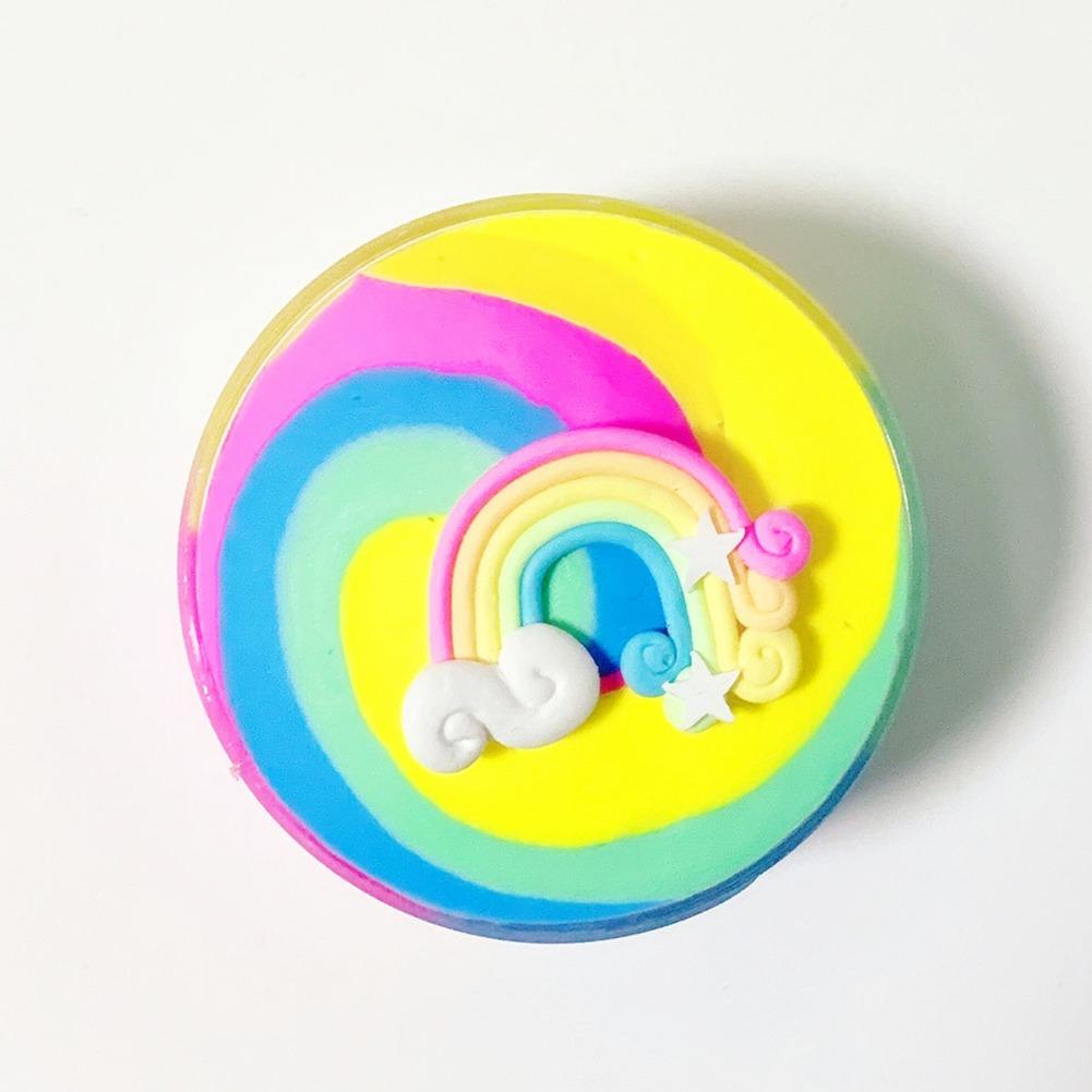 Criancas Colorido Dos Desenhos Animados Arco Iris Bolo De R 39