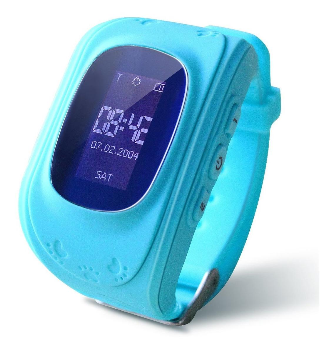 Crianças Relógio Inteligente Com Rastreador Gps,sos Botão Az