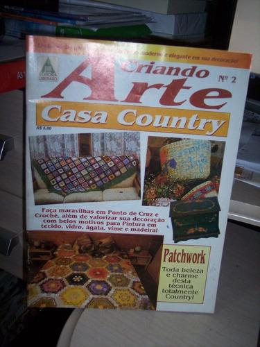 criando arte n. 2 - casa country patchwork