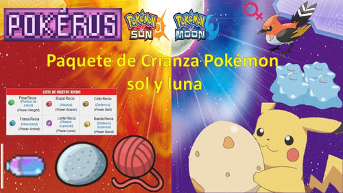 crianza pokemon