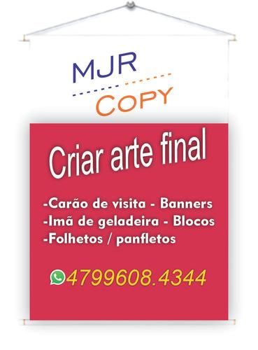 criar arte para cartão de visita - panfletos / folhetos
