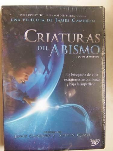 criaturas del abismo james cameron subs español dvd nuevo
