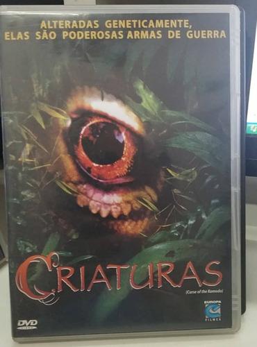 criaturas -dvd