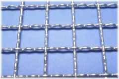 criba malla pre-ondulada acero inox abertura 1 , 1x1mt