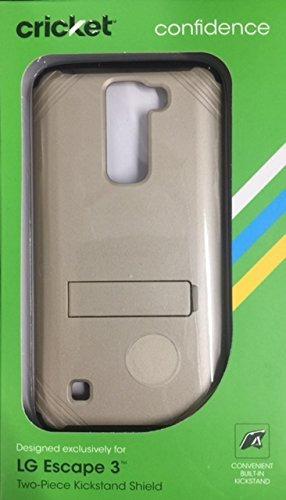 Cricket Samsung Galaxy Amp Prime Two-tone Shield W/screen Pr