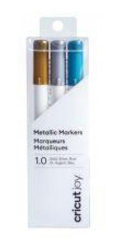 cricut - canetas gel brilhante para cricut joy 0,8 mm - 3 co